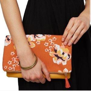 Rachel Pally Zahara Reversible Fold Floral Clutch